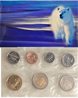 1999 Canada Polar Bear Proof Like Set