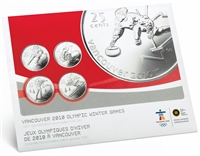 2007 Canada Special Edition Olympic Uncirculated Proof Like Set