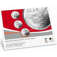 2008 Canada Special Edition Olympic Uncirculated Proof Like Set