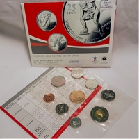 2009 Canada Special Edition Olympic Uncirculated Proof Like Set