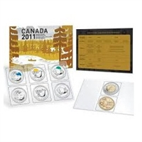 2011 Canada Special Edition Parks Uncirculated Proof Like Set