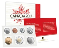 2012 Canada Regular Uncirculated Proof Like Set