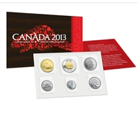 2013 Canada Regular Uncirculated Proof Like Set (Type 1 - Regular)