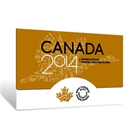 2014 Canada Regular Uncirculated Proof Like Set