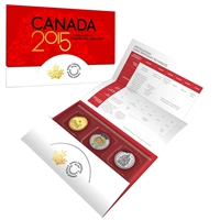 2015 Canada Uncirculated Proof Like Set