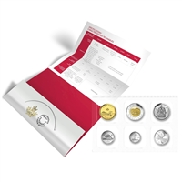 RDC 2017 Classic Canada Uncirculated Proof Like Coin Set (Residue)
