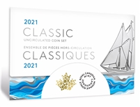 2021 Classic Canadian Uncirculated Proof Like Coin Set