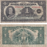 BC-1 $1 1935 Osborne-Towers, English, Series A, VG