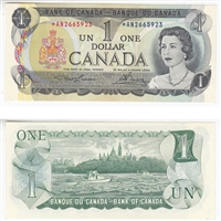BC-46aA $1 1973 Lawson-Bouey, *AN, UNC