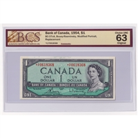 BC-1 1935 Canada $1 Osborne-Towers, English, A5198894 PMG Certified VF-25