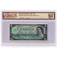 BC-1 1935 Canada $1 Osborne-Towers, English, A4397733 PMG Certified VF-25