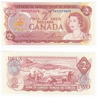 BC-47a-i 1974 Canada $2 Lawson-Bouey, ABS, UNC