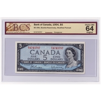 BC-22c 1937 Canada $2 Coyne-Towers, K/R, PMG Certified AU-55 EPQ