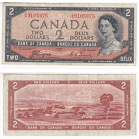 BC-30a $2 1954 Coyne-Towers, Devil's Face, C/B, VF