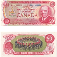 BC-52a $100 1975 Lawson-Bouey, Two Letter, JC, BCS Certified AU-58, Original
