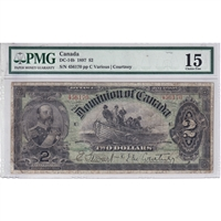 DC-14b 1897 Dominion $2 Various-Courtney PMG Certified F-15