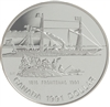 1991 Canada 175th Anniversary of the Frontenac Proof .50 Silver Dollar
