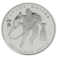 1993 Canada Stanley Cup Centennial Proof Sterling Silver Dollar