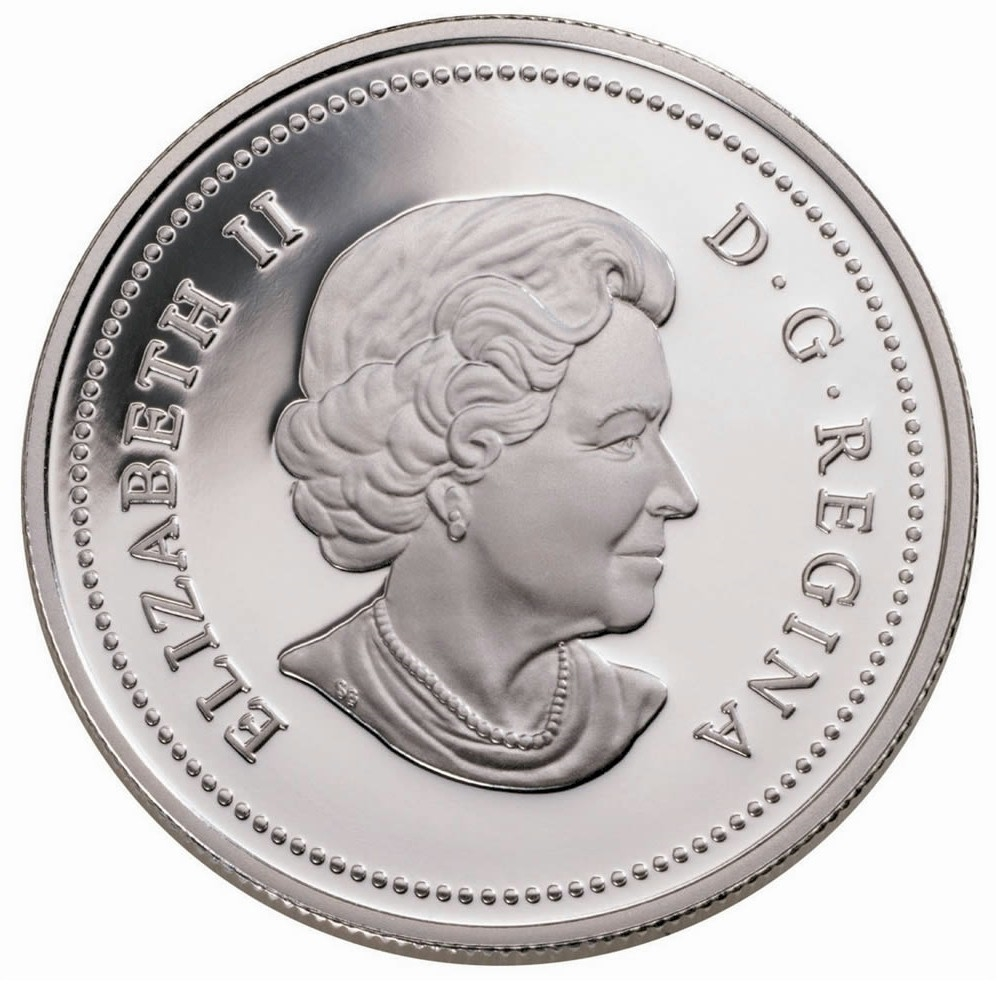 2003 Coronation Proof Silver Canadian Dollar Royal Canadian Mint