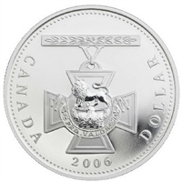 2006 Canada $1 150th Ann. Of the Victoria Cross Proof Silver (No Tax)