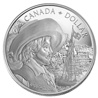 2008 Canada Quebec City 400th Anniversary Proof Silver Dollar