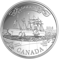 2016 Canada Transatlantic Cable Anniversary Proof Silver Dollar (No Tax)