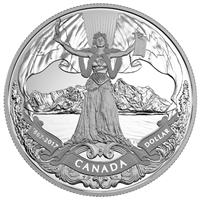 2017 150th Anniversary Canadian Confederation Proof Silver Dollar (No Tax)