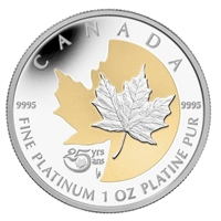 2013 Canada $300 Anniversary of the Platinum Maple Leaf (TAX Exempt) Dented Box