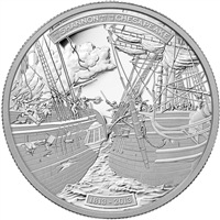 2013 Canada $300 HMS Shannon & USS Chesapeake Platinum Coin (No Tax)