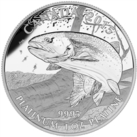 2015 Canada $300 N.A. Sportfish - Rainbow Trout Platinum (No Tax)