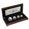 1991 Canada Snowy Owls Platinum 4 Coin Set (TAX Exempt)