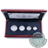 1993 Canada Arctic Foxes Platinum 4 Coin Set - #4 (TAX Exempt)
