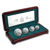 2003 Canada Atlantic Walrus Platinum 4 Coin Set - #9 (No Tax)