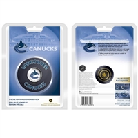 2008 Canada Vancouver Canucks NHL $1 Coin Puck Set -