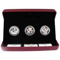 2019 Canada $20 Norse Gods 3-Coin Set (No Tax) impaired