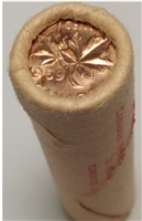 1969 Canada 1-cent Original Roll of 50 pcs.