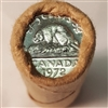 1972 Canada 5-cent Original Roll of 40 pcs