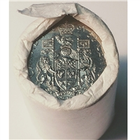 1991 Canada 50-cent Original Roll of 25 pcs.