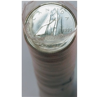 1995 Canada 10-cent Original Roll of 50 pcs