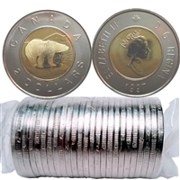 1997 Canada Two Dollar Original Roll of 25pcs