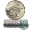 1999 August Canada 25-Cents Original Roll.