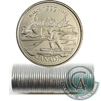 1999 March Canada 25-Cent Original Roll