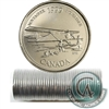 1999 November Canada 25-Cents Original Roll of 40 pcs.