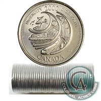 2000 Ingenuity - February Canada 25-Cents Original Roll.