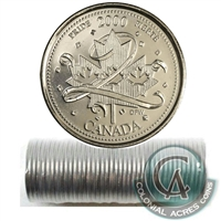 2000 Pride - January Canada 25-Cents Original Roll.