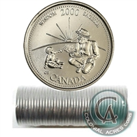 2000 Wisdom - September Canada 25-Cents Original Roll.