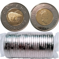 2001 Canada $2 Original Roll of 25pcs.