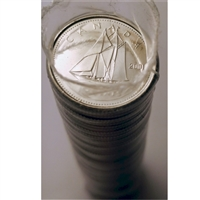 2001-P Bluenose Canada 10-Cent Original Roll of 50pcs.