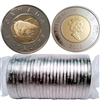 2003 Old Effigy Canada Two Dollar Original Roll of 25pcs