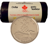 2004 Canada Lucky Loon Dollar Original Roll of 25pcs